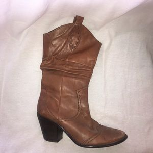 Brown Cowgirl Boots